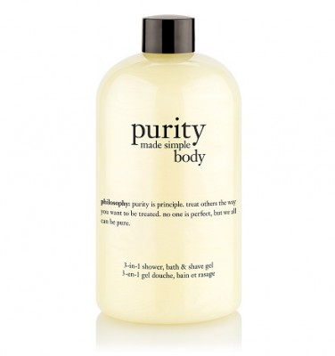 Philosophy Purity Made Simple Body 3-in-1 Shower Bath and Shave Gel