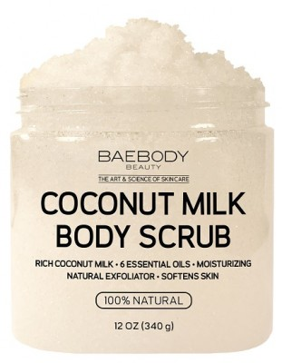 Baebody Coconut Milk Scrub