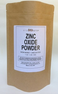 Better Shea Butter - Zinc Oxide Powder