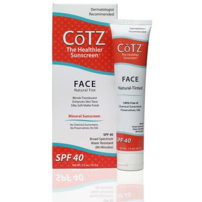 Cotz Face Natural Tinted SPF 40