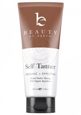 Beauty by Earth Self Tanner - Natural Sunless Tanning Lotion
