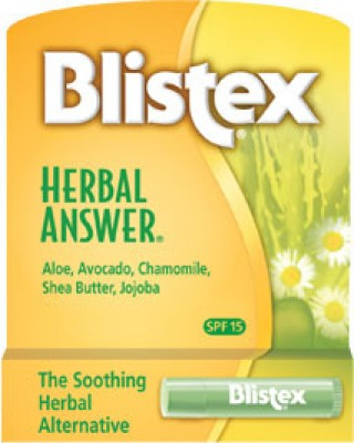 Blistex Herbal Answer Lip Balm with SPF 15 Sun Protection