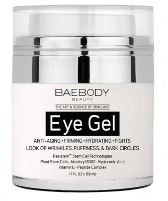 Baebody Eye Gel for Anti-aging, Firming, Hydration, Wrinkle, Puffiness and Dark Circle Treatments