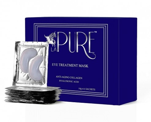 LA PURE Luxury Collagen Eye Masks with Hyaluronic Acid