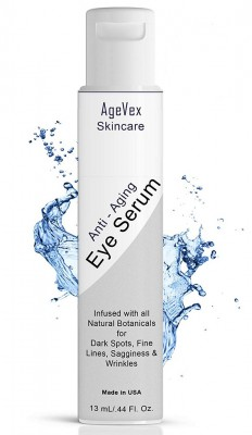 AgeVex Eye Serum - Organic Anti Aging Eye Serum a Refined Eye Cream