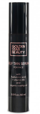 GOLDEN STAR BEAUTY Self Tan Serum For Face