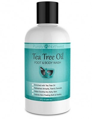 Purely Northwest Tea Tree Oil - Foot and Body Wash