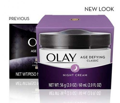 Olay Age Defying Classic Night Cream, Face Moisturizer