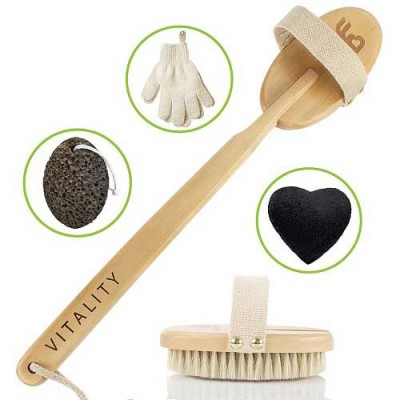 ZEN ME Complete Body Brush Exfoliation System