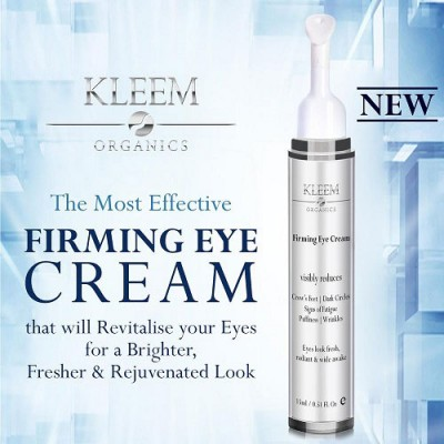 Kleem Organics Anti Aging Eye Cream for Dark Circles - Firming Eye Cream