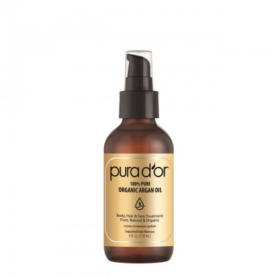 Purad'or 100% Pure Organic Argan Oil (Body, Hair and Face Treatment)