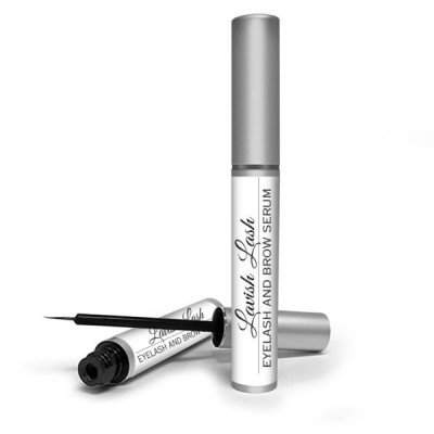 Hairgenics Lavish Lash – Eyelash Growth Enhancer & Brow Serum with Biotin and Growth Peptides for Long, Luscious Lashes and Eyebrows