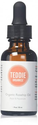 Teddie Organics Rosehip Seed Oil for Face, Hair and Skin