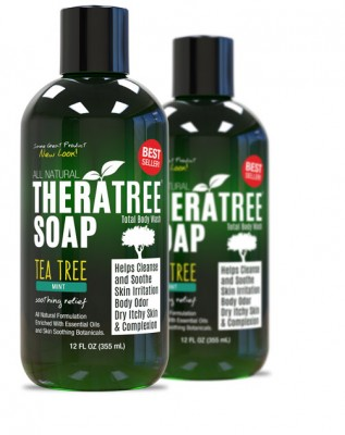 Theratree Soap (Tea Tree Mint) - Total Body Wash