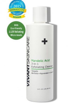 Vivant Skin Care Mandelic Acid 3-in-1 Exfoliating Cleanser