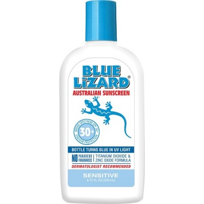 Blue Lizard Australian Sunscreen Sensitive 8.75 oz Bottle with SPF 30+
